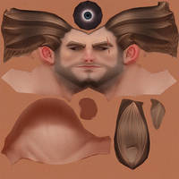 Mech Pilot - Goose Face Texture by HazardousArts