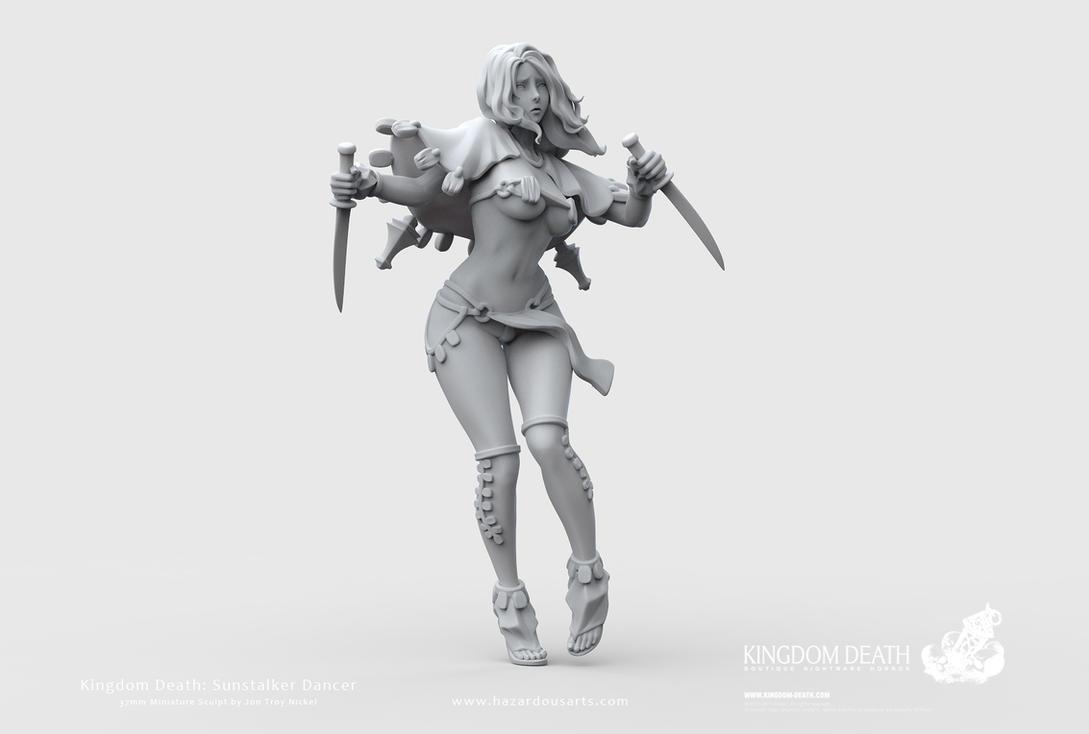 Kingdom Death: Sunstalker Dancer by HazardousArts