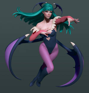 Morrigan with some color!