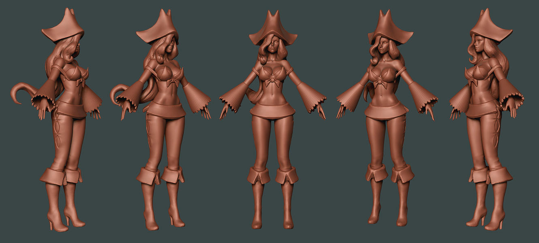 League of Legends: Miss Fortune by HazardousArts