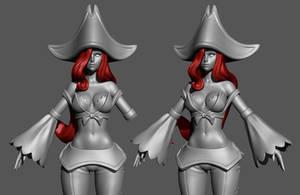 Miss Fortune 4 by HazardousArts