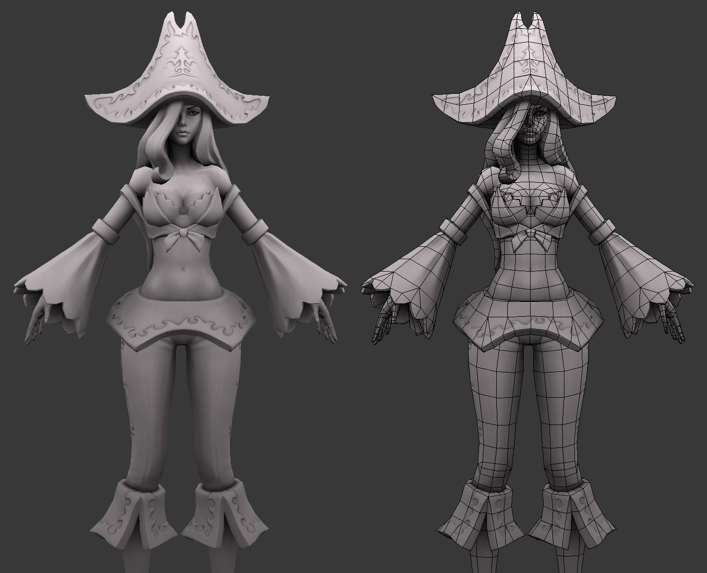 League of Legends: Miss Fortune Wip 8 by HazardousArts