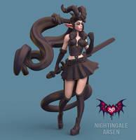 Nightingale Arsen by HazardousArts