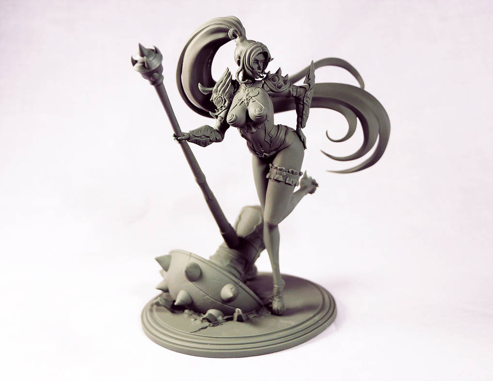 Rin Wolfheart Unpainted by HazardousArts
