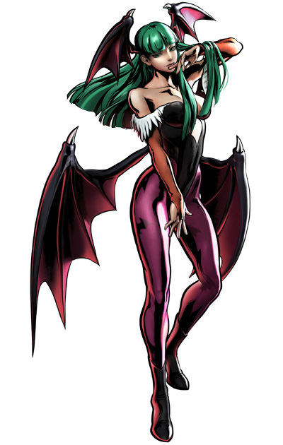 Morrigan Aensland render for Horror Brawl by ask-theangelofsouls