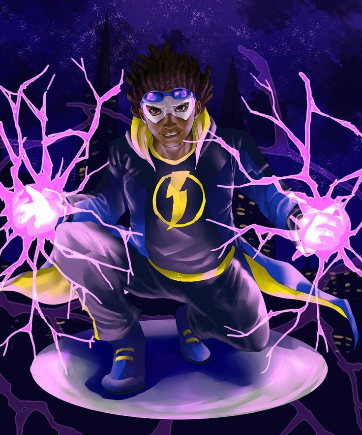 Static Shock by ask-theangelofsouls