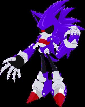 Mecha Sonic by ask-theangelofsouls