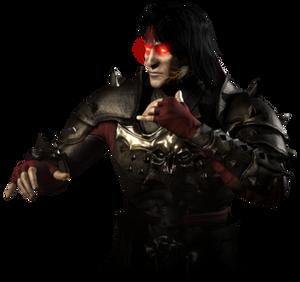 Horror Brawl Request 2127: Dark Emperor Liu Kang by ask