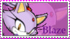Blaze the cat Stamp by catiexshadow