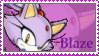 Blaze the cat Stamp by catiexshadow