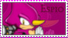 espio the chamelion Stamp by catiexshadow