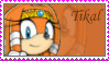 Tikal the echidna Stamp by catiexshadow