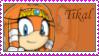 Tikal the echidna Stamp by catiexshadow