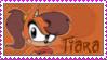 Tiara boobowski stamp by catiexshadow