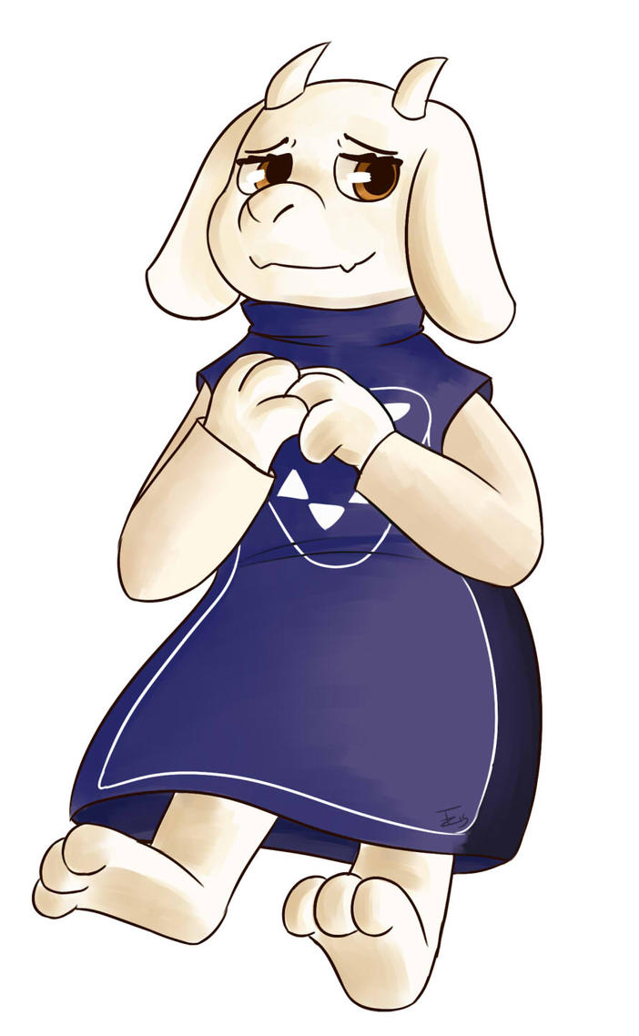 Goat Mom by Trozte