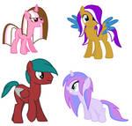 Pony Adopts 3