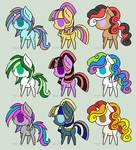 Chibi Pony Adopts