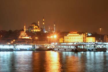 Turkey - night by Edgars