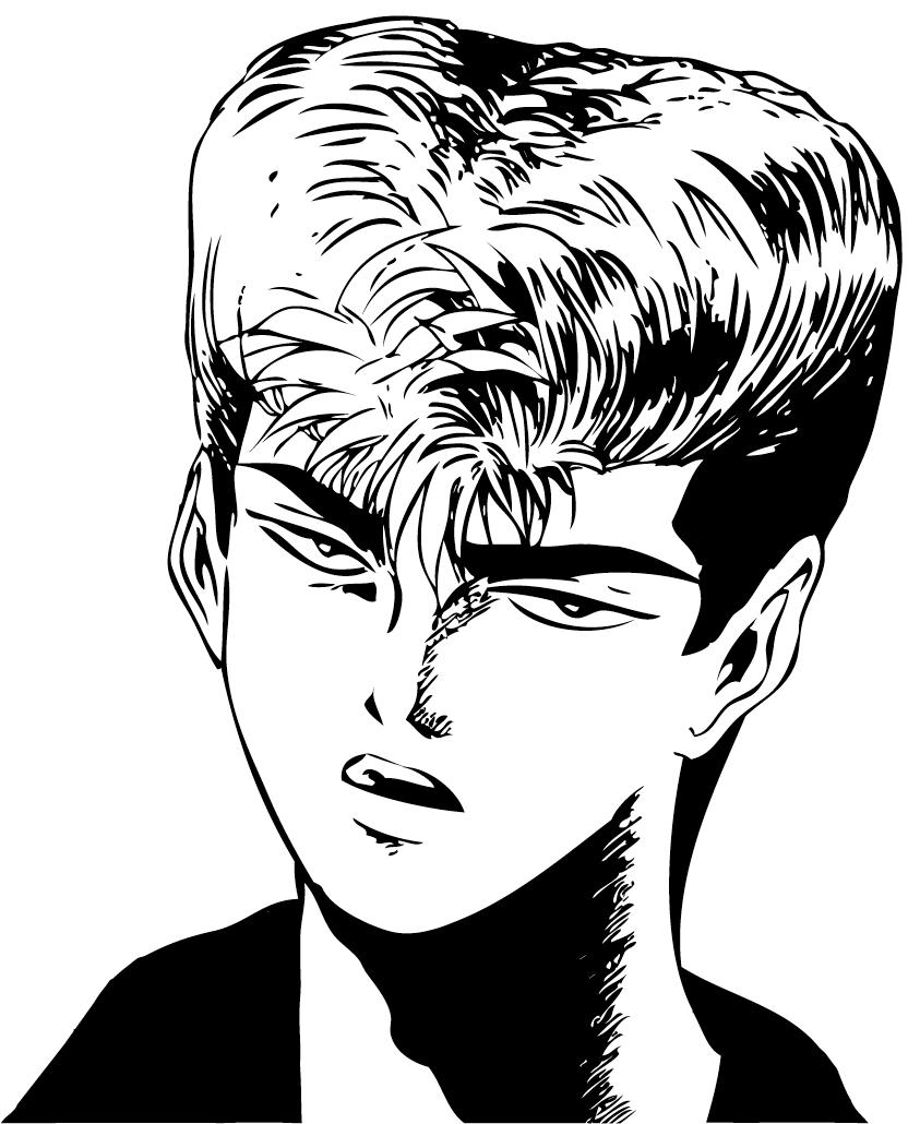 Onizuka Eikichi -Young- By Frow7 On DeviantArt