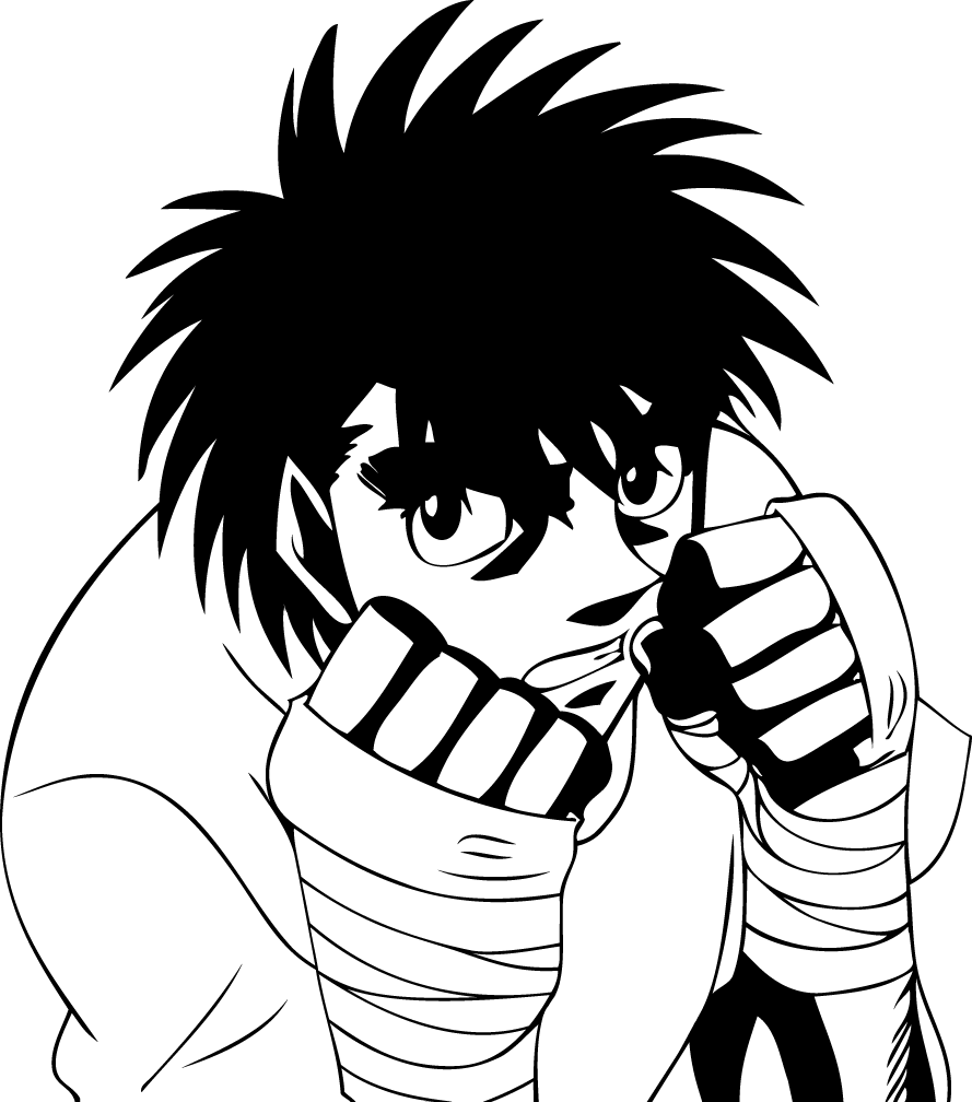Ippo Makunouchi By Frow7 On DeviantArt
