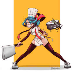 Chef Sattack by Octoprimo