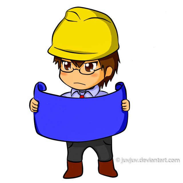 Chibi Civil Engineer Boy By Juvjuv ...  Civil Engineer