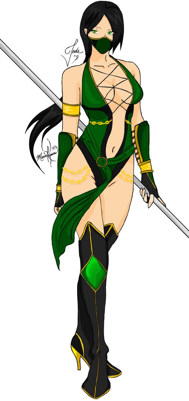 Mortal Kombat: Jade By Marie Kovacs by miaiko