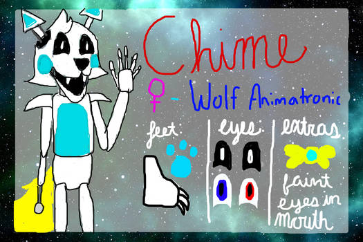 Chime the Wolf (Official Ref Sheet)
