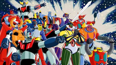 Nagai's Super Robot Classics by Zer013