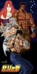 Hokuto No Ken by Zer013