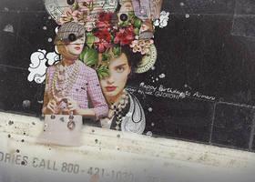 110711 FLOWER LADY by ciezzz