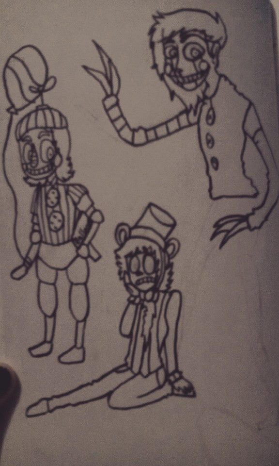 Five nights at freddy's 2 by xX-loveXx