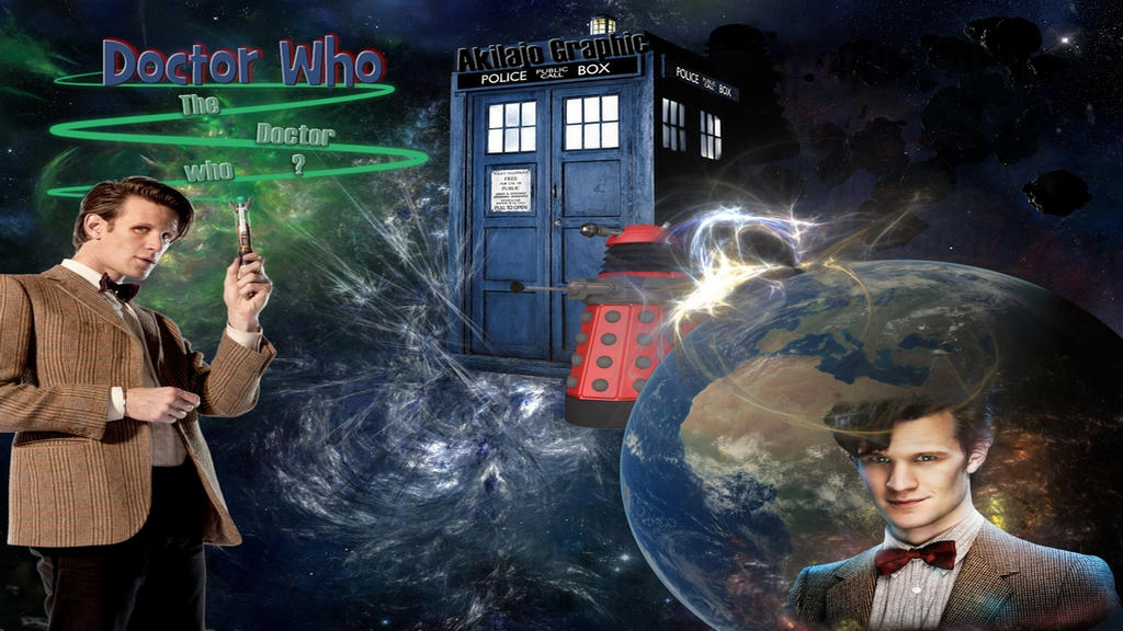 Doctor Who Wallpaper Desktop by AkilajoGraphic