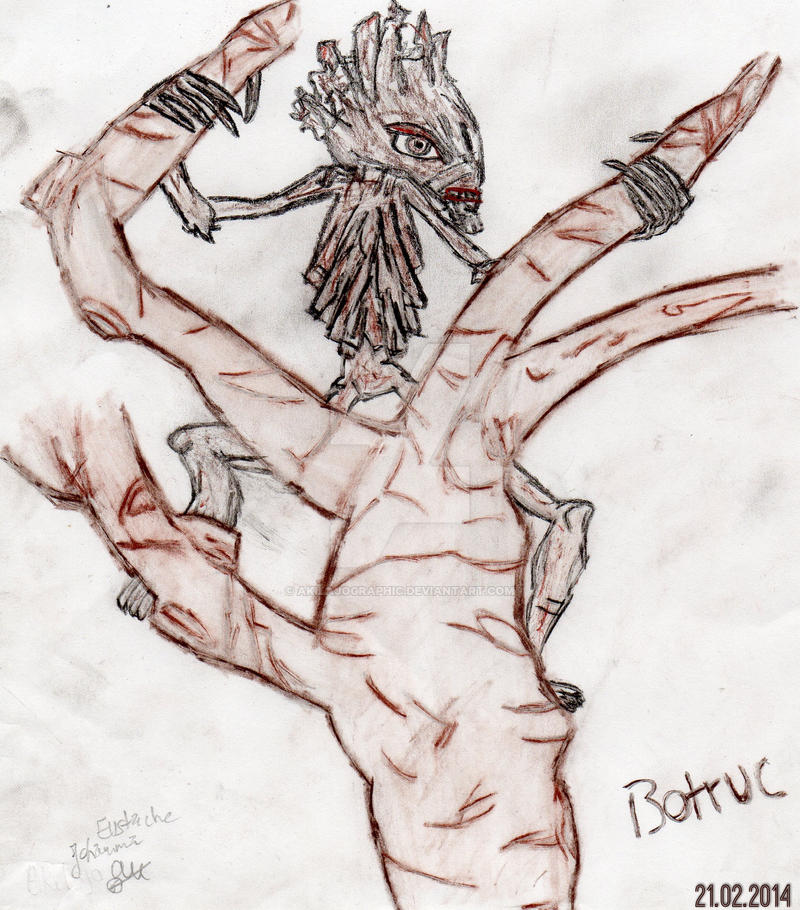 BOTRUC (Bowtruckle) by AkilajoGraphic