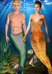 Tom and Emma Underwater