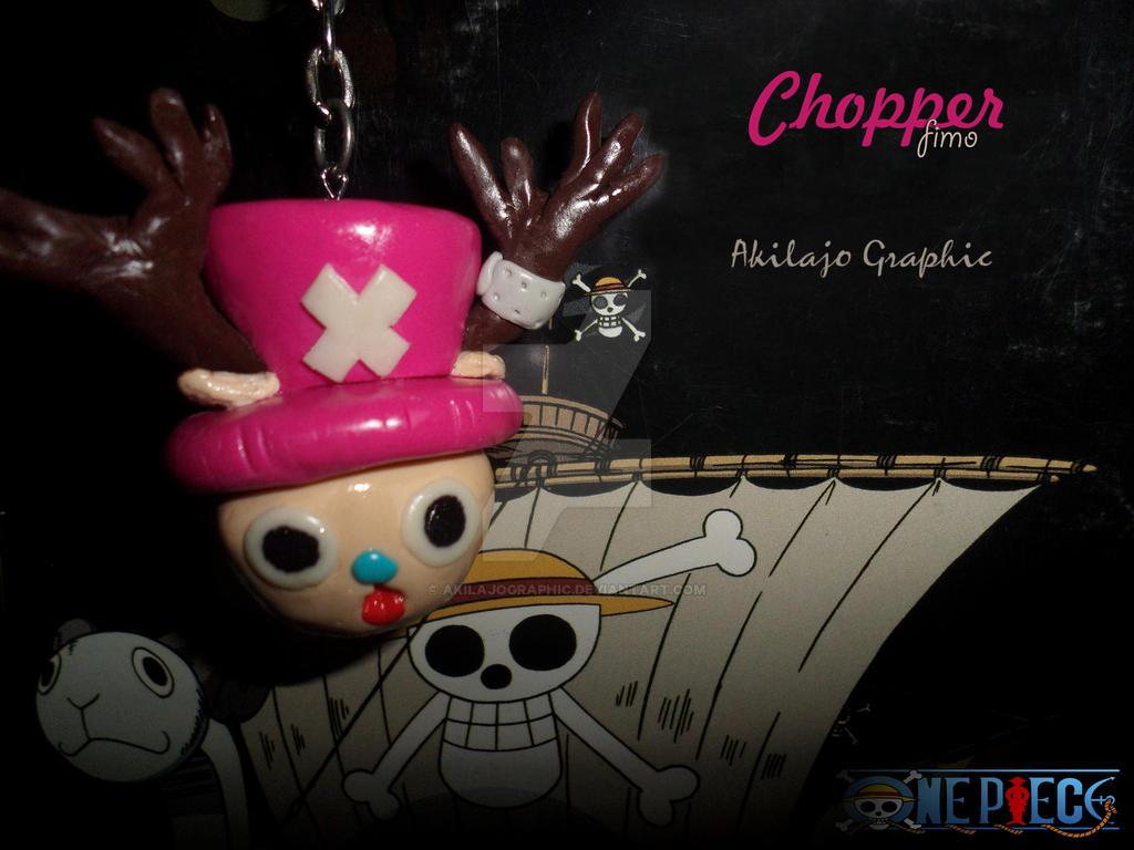 Porte Cle Chopper ( fimo )