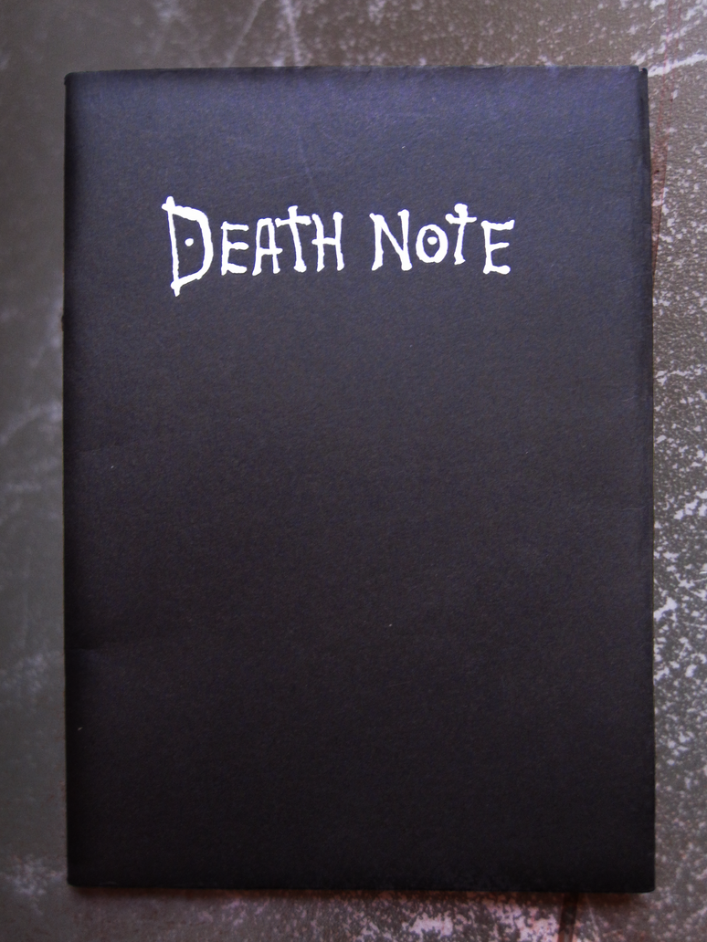 Hand Made Death Note by FullMoonWarriors