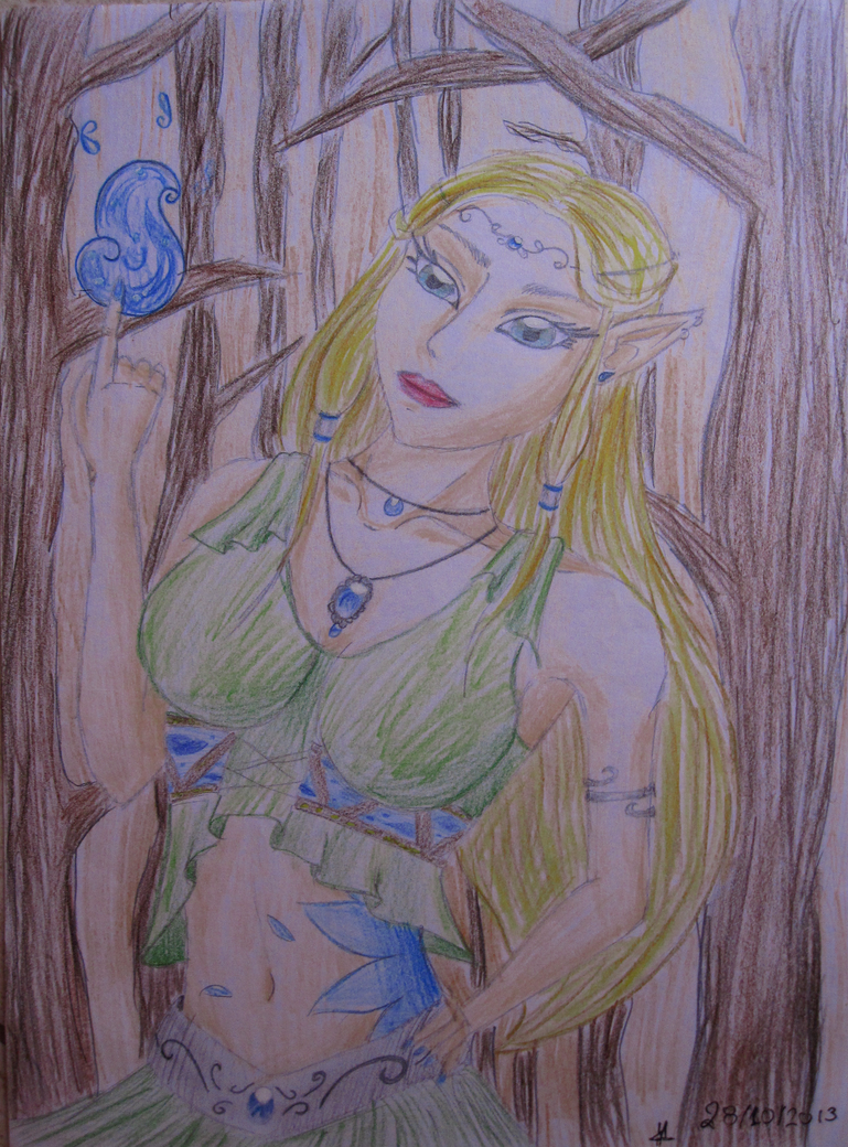 Forest Elf by FullMoonWarriors