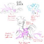 Zebra rifle concept art