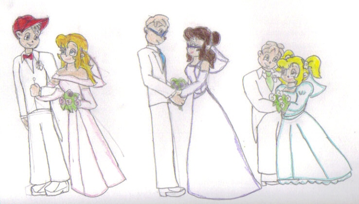 chipmunk weddings by kessielou on deviantart