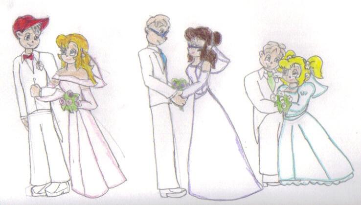 chipmunk weddings by kessielou on deviantart