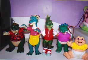 My Dinosaurs Figures by KessieLou