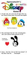 My Disney Meme