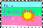 Princess Celestia Fan Stamp by KessieLou