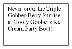 No Goober-Berry Sunrises by KessieLou