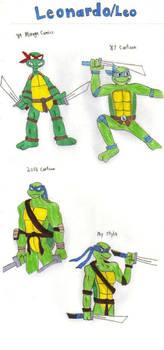 Turtle Gens: Leonardo