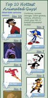 My Top 10 Hottest Cartoon Guys