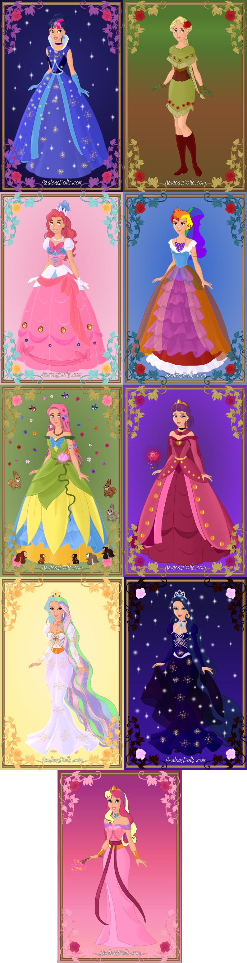 MLP: Disney is Magic by KessieLou