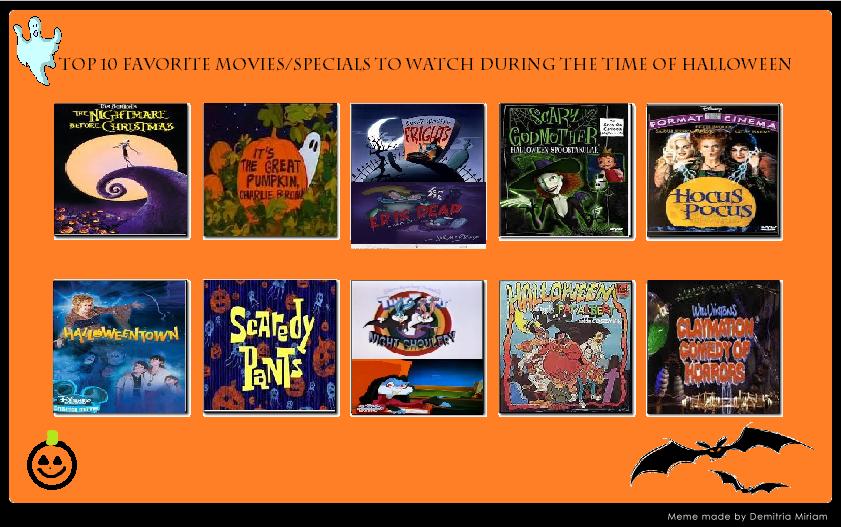 My Top 10 Halloween Specials by KessieLou on DeviantArt