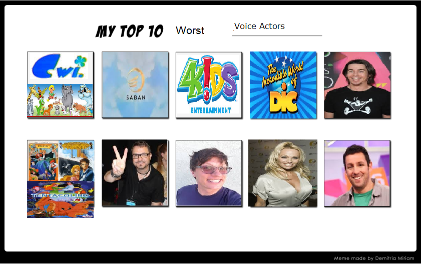 how to find voice actors for animation